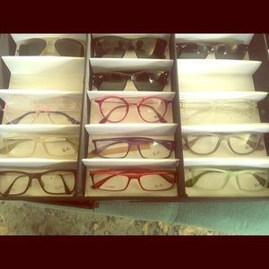 Ray Ban Rx glasses and vintage Rayban sunsglasses